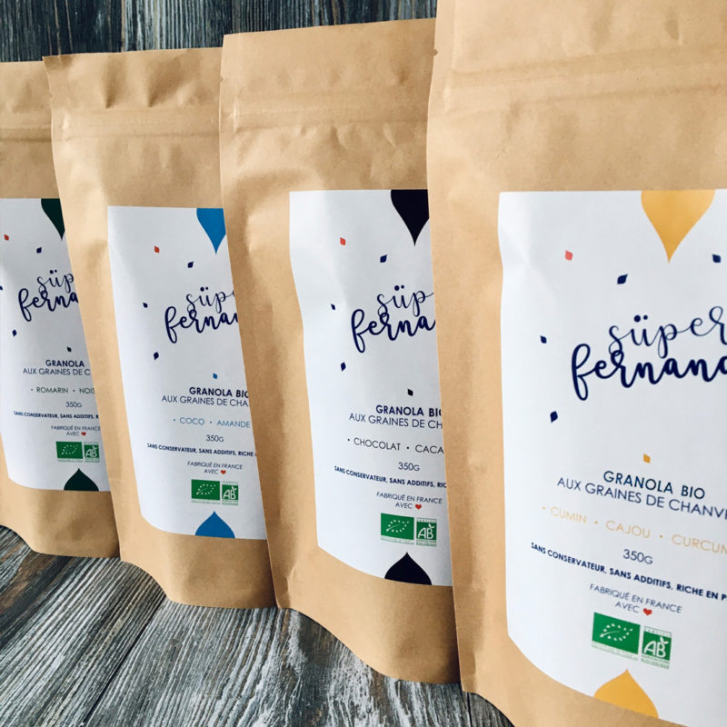 Pack Gourmand de Granolas Bio Superfernand